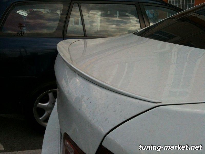 Установка спойлера на BMW E60, F10 на двухсторонний скотч