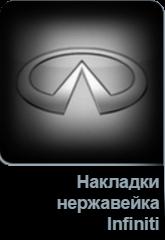 Накладки нержавейка Infiniti в Tuning-market Молдова