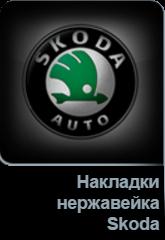 Накладки нержавейка Skoda в Tuning-market Молдова