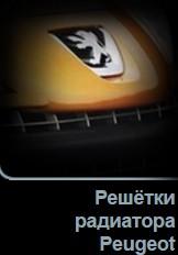 Решетки радиатора Peugeot в Tuning-market Молдова